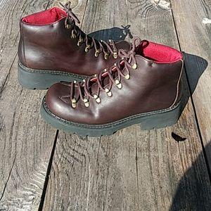 AEO Women's Brown Combat Boots